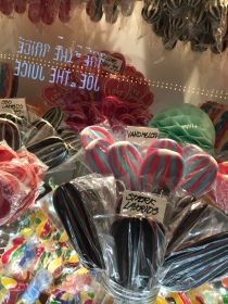 More licorice lollipops!